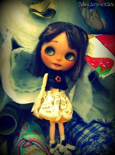 Basaak doll en Telas Bego