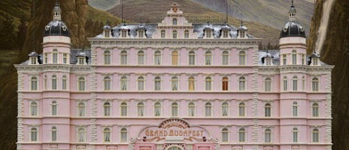 The Grand Budapeste Hotel Wes Anderson