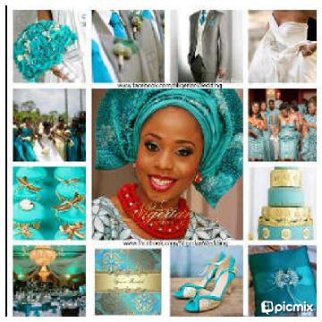 E Venue Events Management Turquoise Blue Wedding Colour Theme