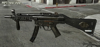 MP5 - Modern Warfare 3 Weapons
