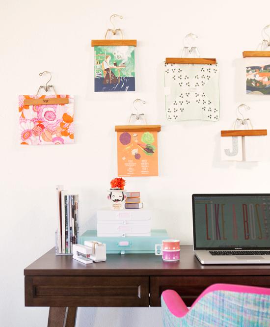 Espacio de trabajo en casa low cost