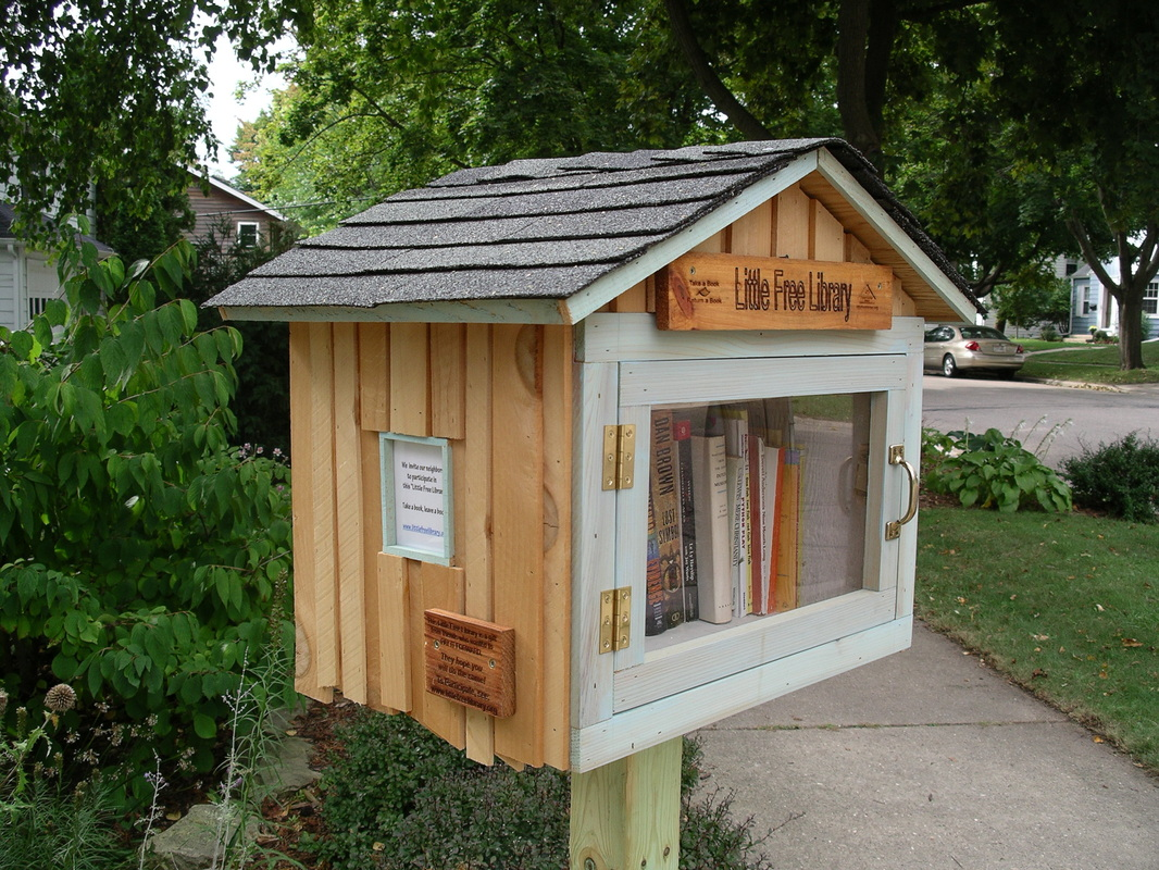 Zippidy do da little free library for Build a house online free