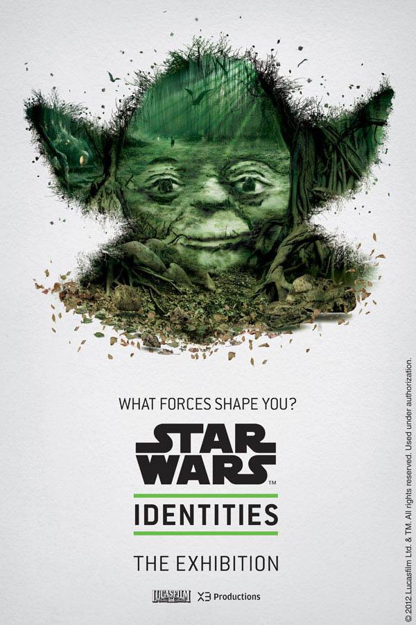 Star Wars Identities by Louis Hébert - Yoda
