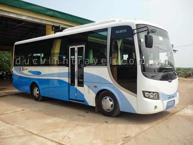 Cho thuê xe ô tô 35 chỗ Isuzu Samco có lái tại Hà Nội 1