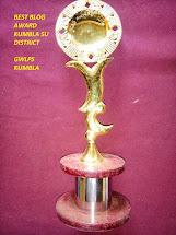 Best blog award 2014
