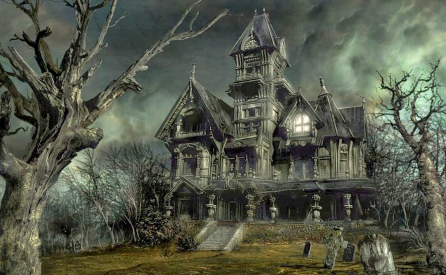 Halloween Haunted House Tradition