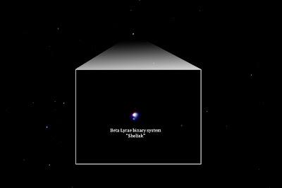 beta lyrae double star 300mm