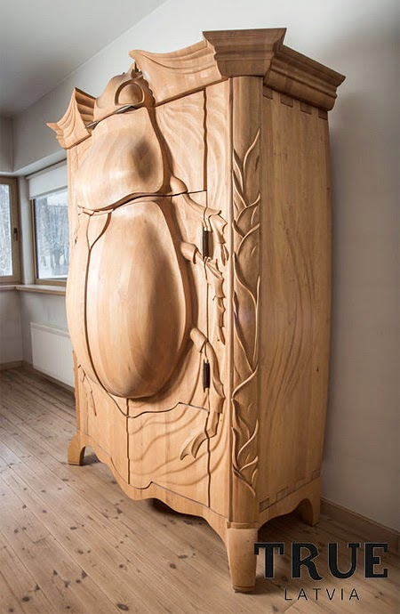 Beetle Cabinet Art Seen On www.coolpicturegallery.us