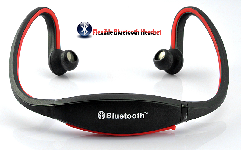 Cuffie bluetooth cuffia sport mp3 radio fm integrata wireless usb corsa micro sd ebay - Cuffie per sport ...