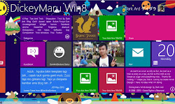 Template DickeyMaru Windows 8
