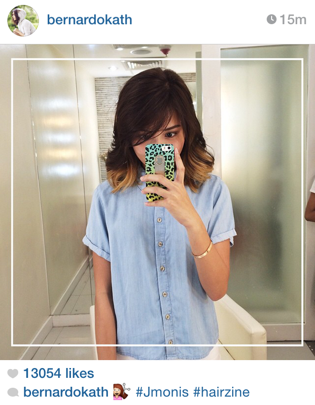 Kathryn Bernardo New Hair Color