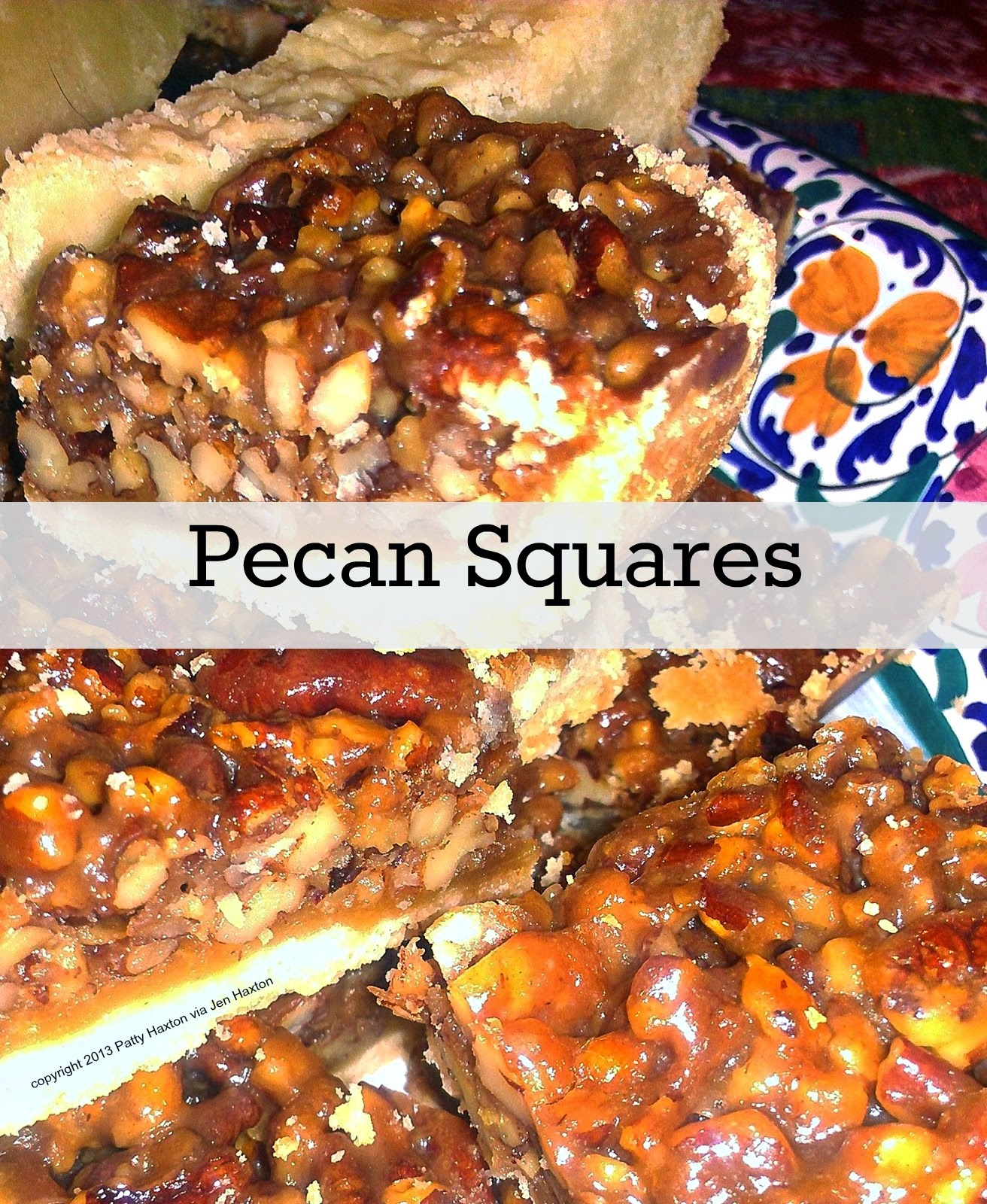 Cooking On A Budget: Pecan Squares