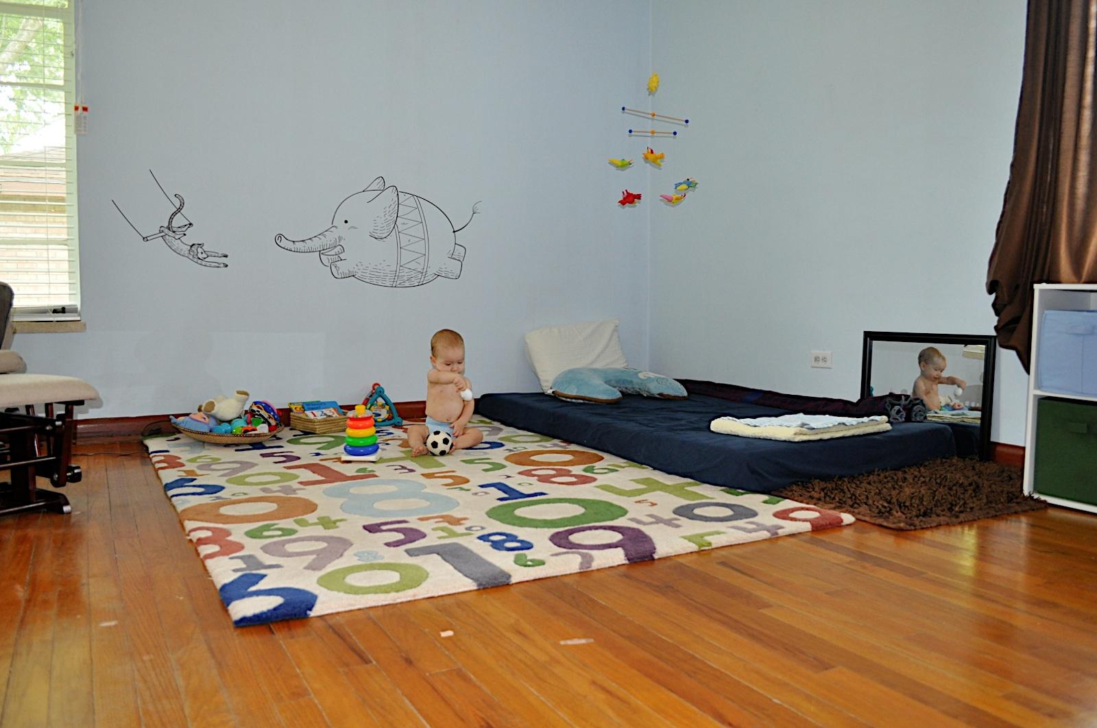 Ensine seu filho Quarto sem berço uma proposta Montessori ~ Quarto Montessoriano Para Irmaos