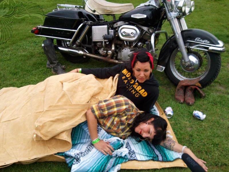 gypsy biker bedroll babes