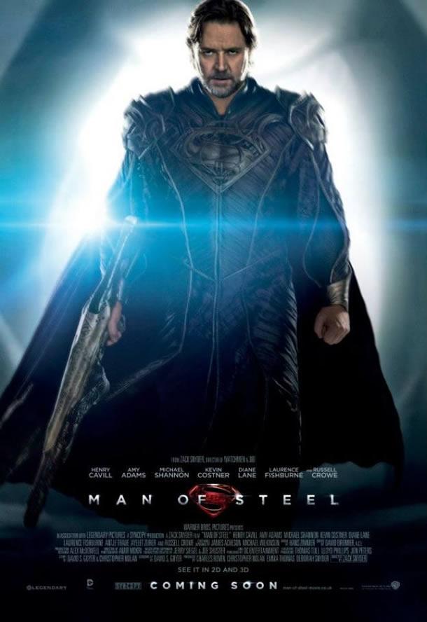 Man of Steel: Jor-el poster