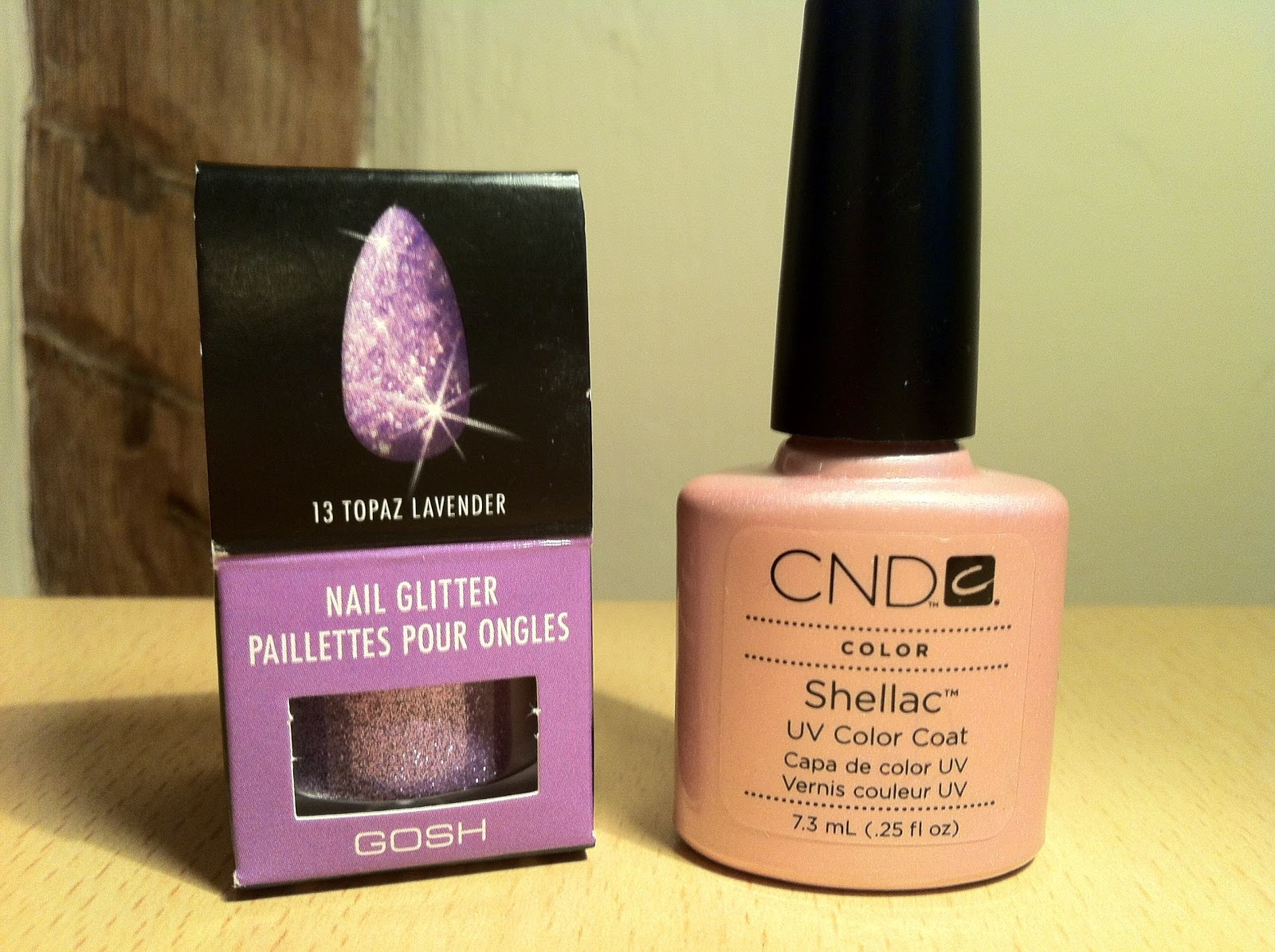 Brush up and polish up cnd shellac nail art glitter fade cnd shellac nail art glitter fade barbie style prinsesfo Image collections