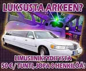 Limusiinikyyti Tallinnassa