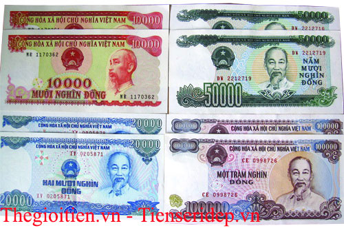 tiền 50k, 100k cotton