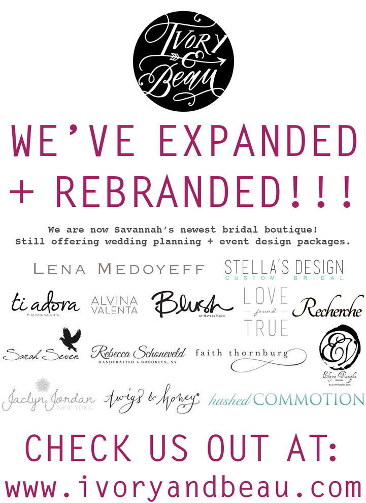 Savannah Bridal Boutique + Wedding Planner: Simply Savannah Events