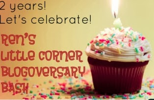 2nd Blogoversary Giveaway