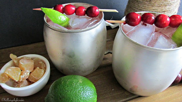 Cranberry Moscow Mule Cocktails