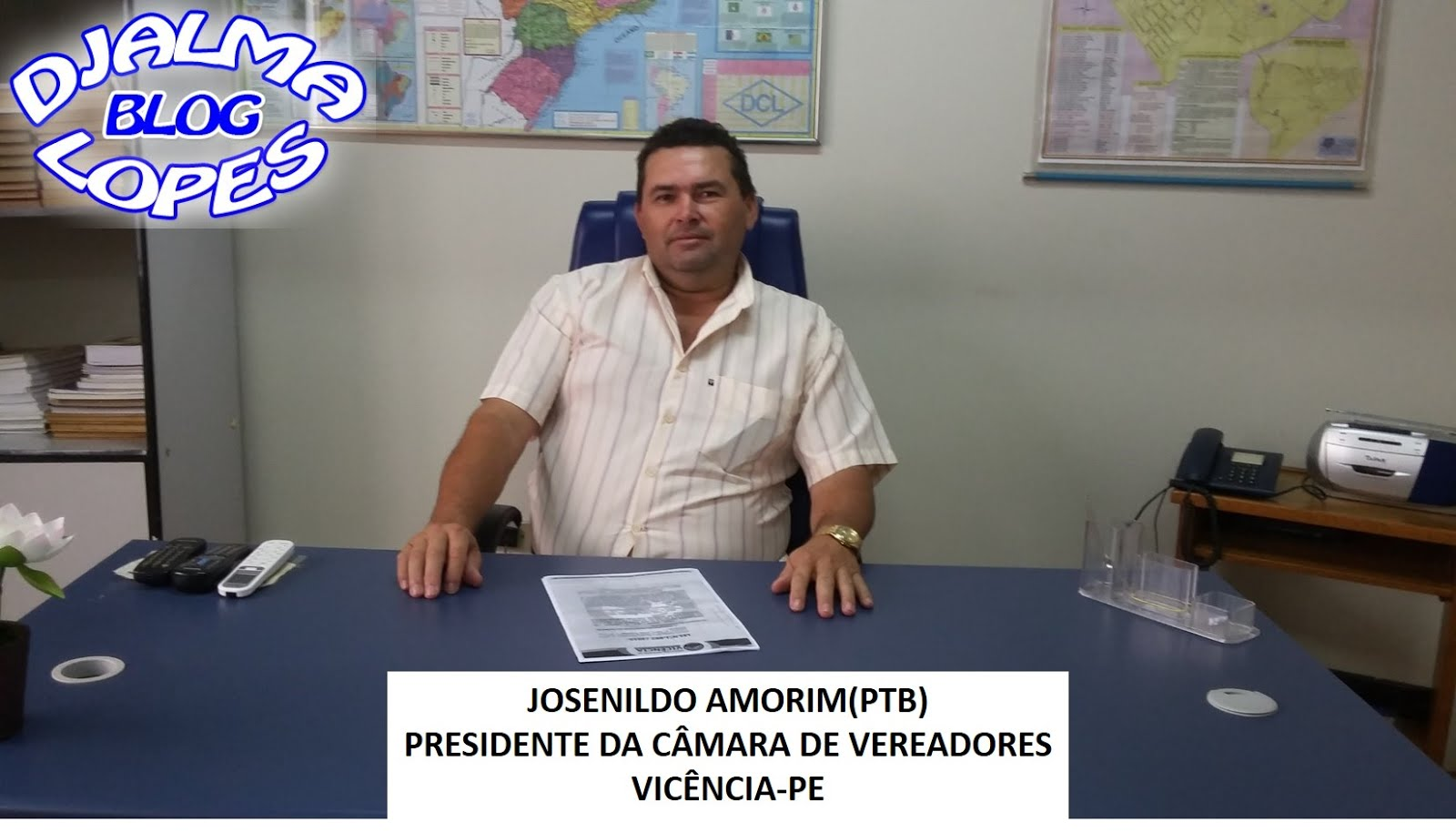 JOSENILDO AMORIM(PTB) - VICÊNCIA-PE