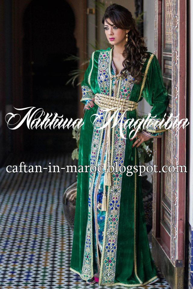 Caftans in Maroc  caftan 2014-2013 81eea984883