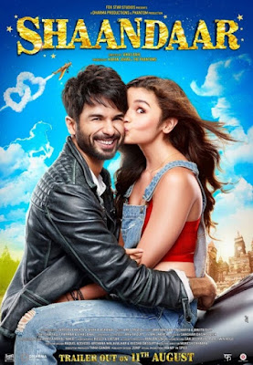 Shaandaar 2015 Hindi Movie 720p BluRay 750MB Download