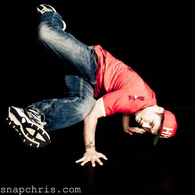 Learn how to b boy