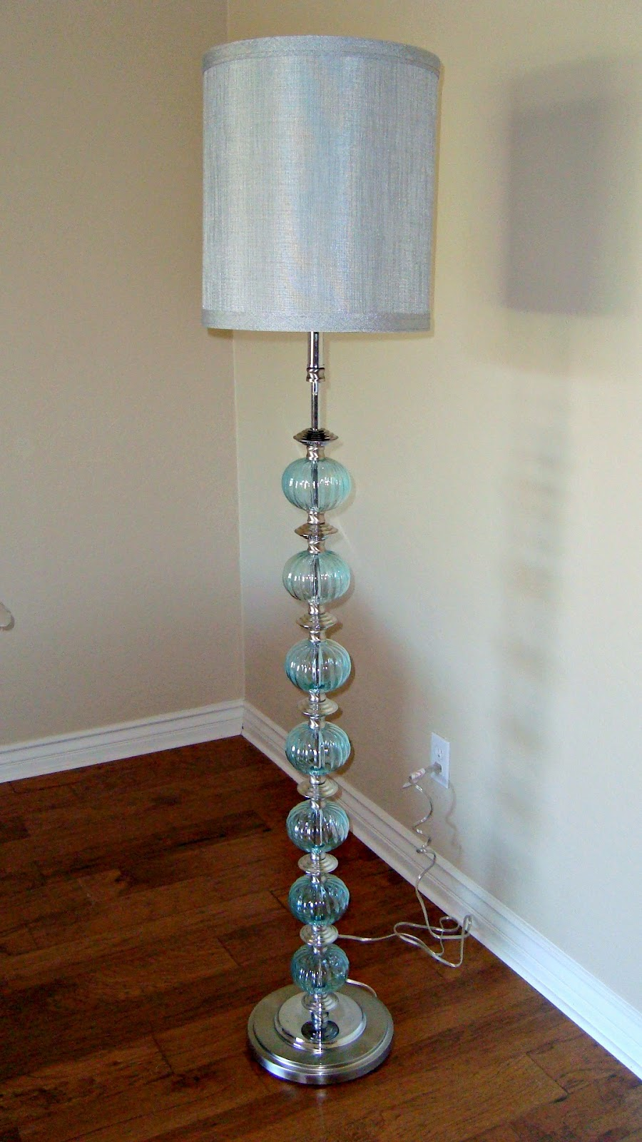 lamp blue ebay miriam itm s euro glass aqua possini table