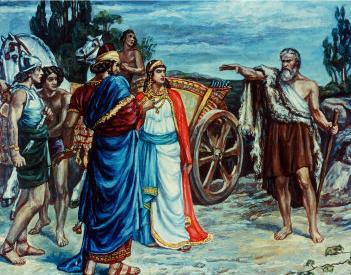 נבואת אליהו לאיזבל ואחאב בכרם נבות