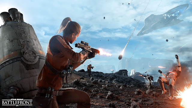 Star Wars: Battlefront drop zone