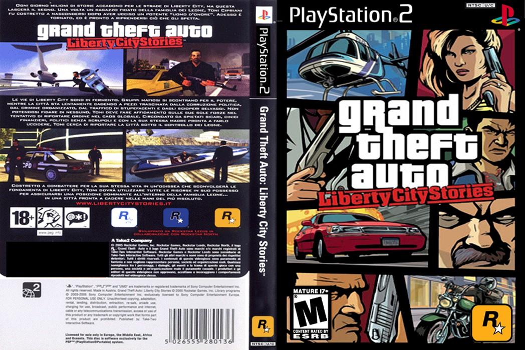 GTA Liberty City Stories Cheats PS2