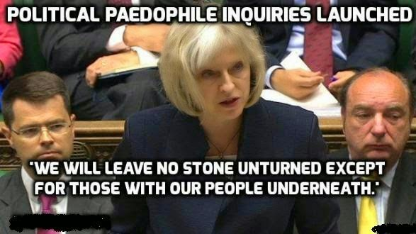 David Cameron and his corrupt pedophile freinds
