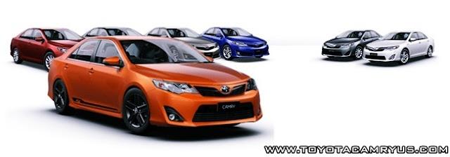 2016 Toyota Camry RZ Review Australia Colours