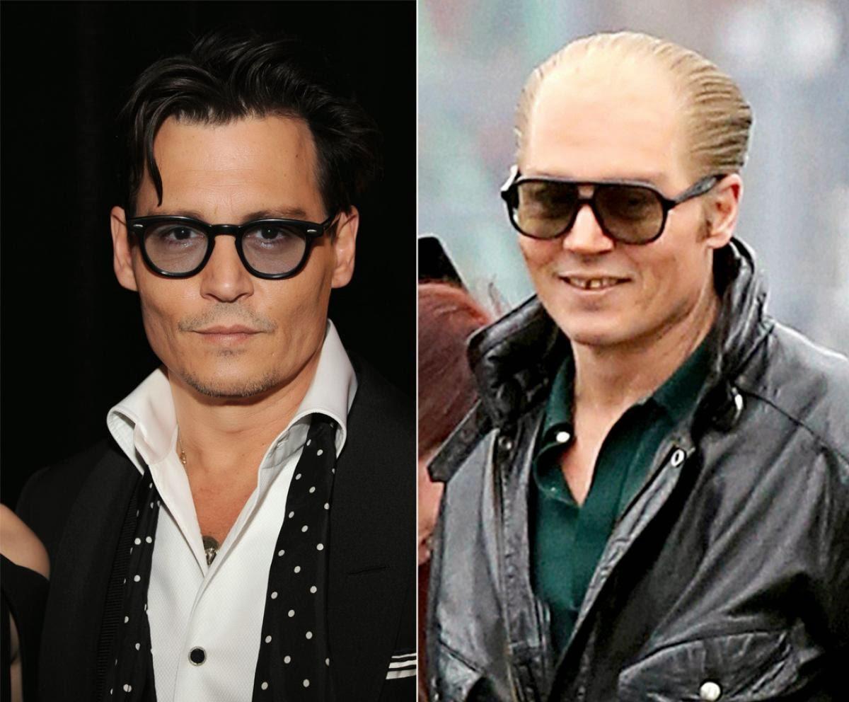 Johnny Depp Flaunts Discolored Teeth For Black Mass Scenes