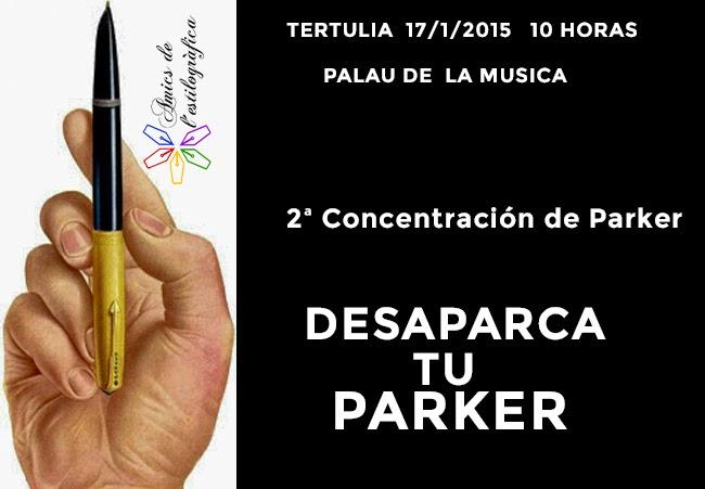 28 TERTULIA 17 DE ENERO 2015 (PARKER)