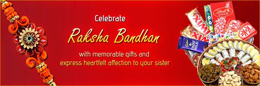 Celebrate Raksha Bandhan with memorable Gifts and express heartfelt affection to your Sister