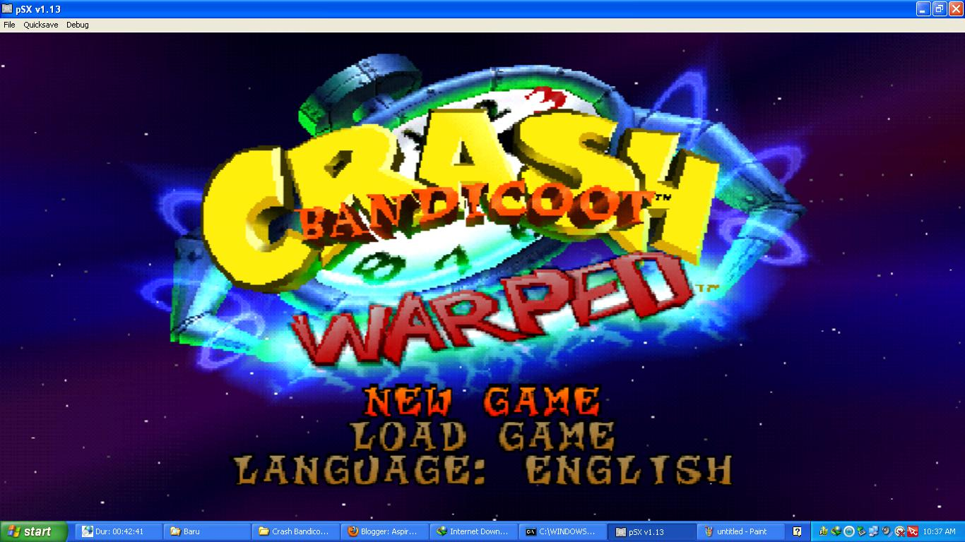 Crash Bandicoot 3: Warped Full (PC Game)