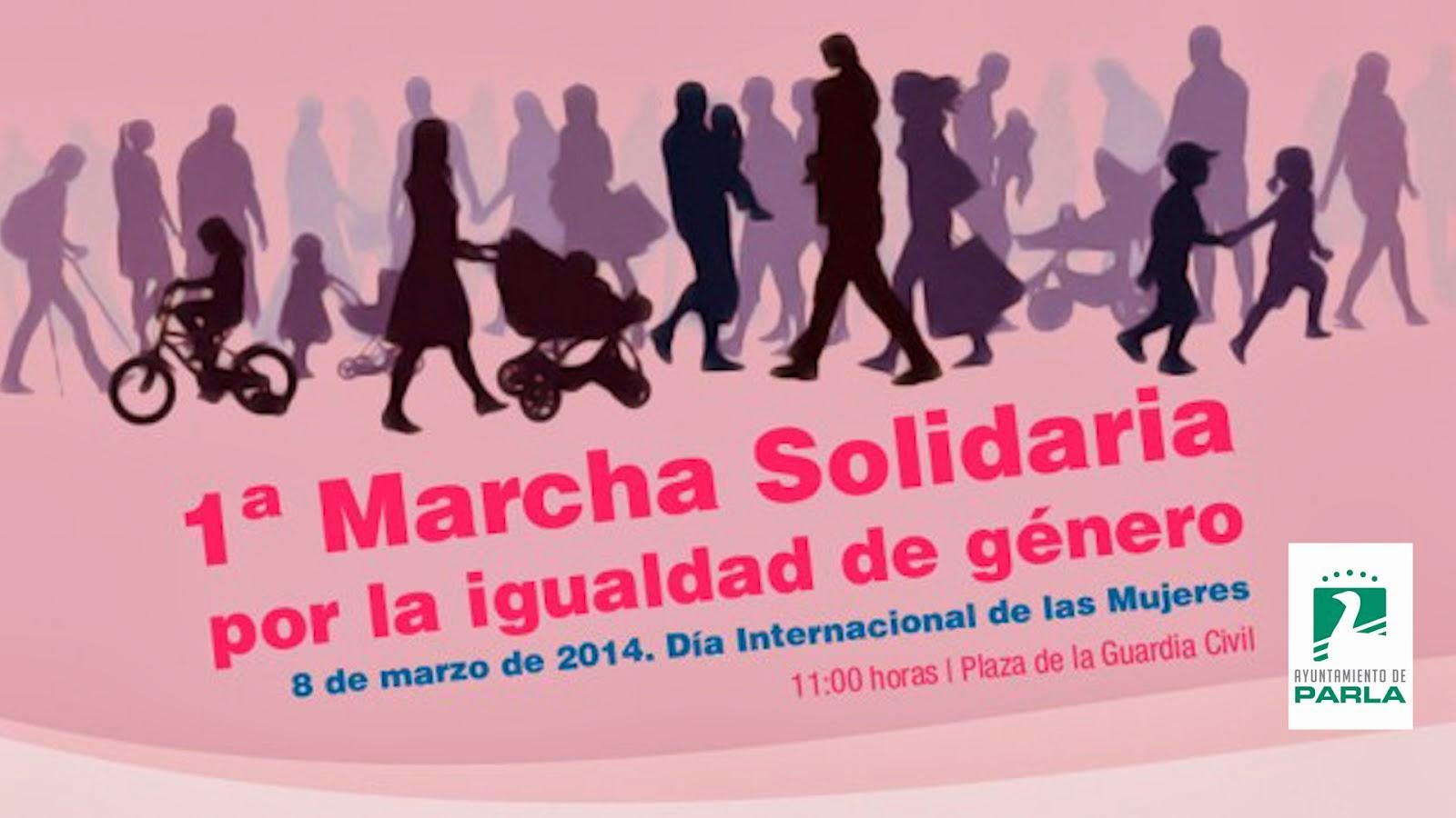 1º MARCHA SOLIDARIA POR LA IGUALDAD DE GENERO