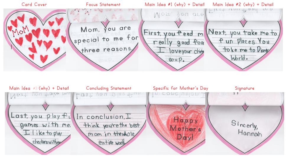 descriptive essay mother
