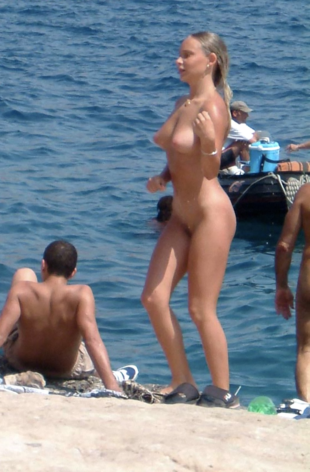 real nudists marseille france