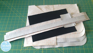 Fusible interfacing attached
