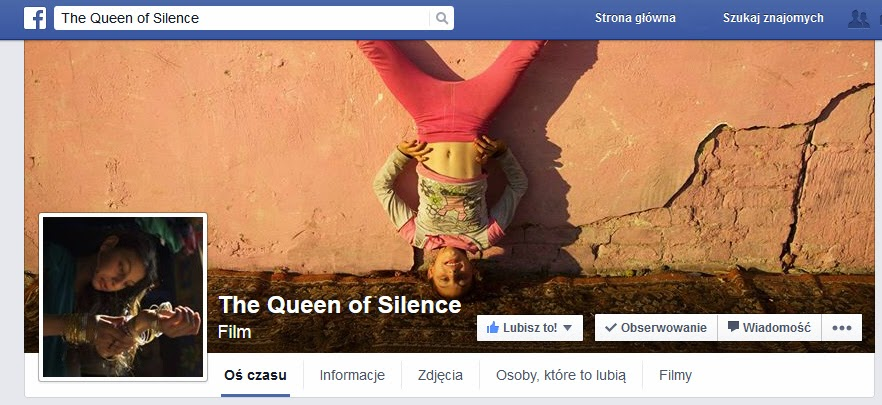 https://www.facebook.com/thequeenofsilencefilm