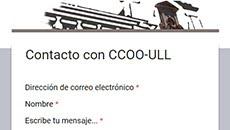 CONTACTAR CON CCOO-ULL
