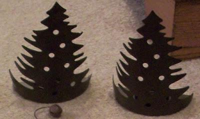 Adornos Navidad con latas