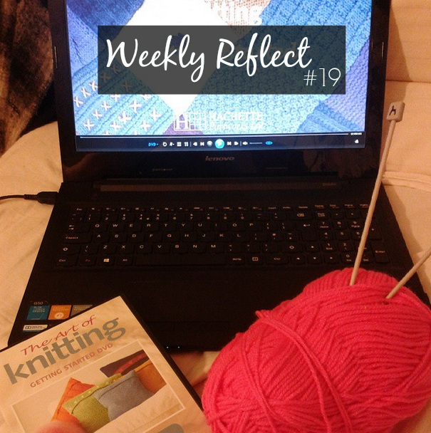 weekly reflect knitting