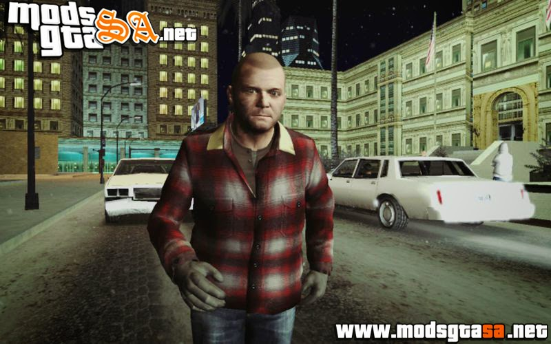 SA - Skin prologue Michael Skin do GTA V