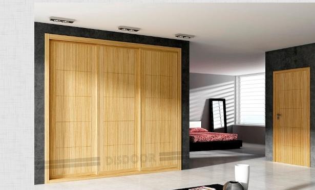 Fotos y dise os de puertas armarios puertas correderas for Disenos de puertas de madera para closets