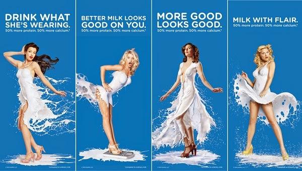 Coca cola milk campaign